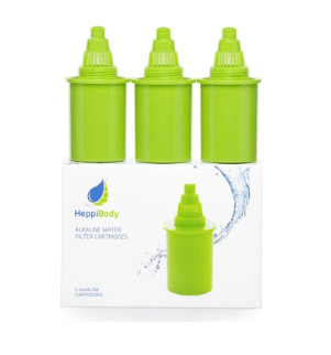HEPPI GREEN SET OF 3 FILTER CARTRIDGES