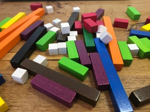CUISENAIRE RODS - LEARN THE VALUE OF NUMBERS