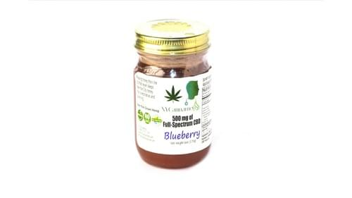 500 mg  - Full Spectrum CBD Honey (Blueberry)