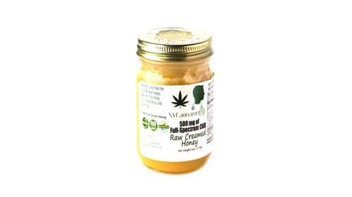 500 mg - Full Spectrum CBD Honey (Raw Creamed)