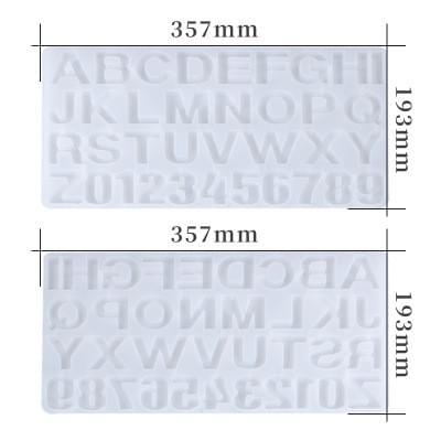 silicone alphabet mold