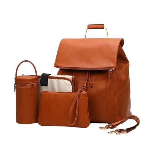 PU leather mommy bag