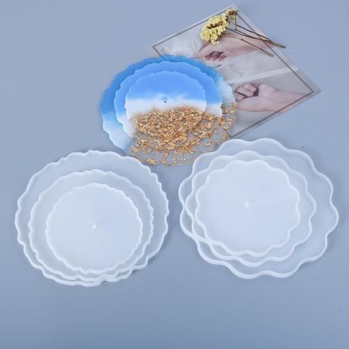 Three layer silicone tray