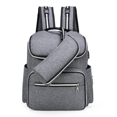 Large capacity diaper backpack