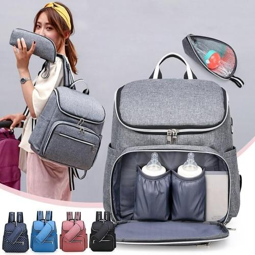 Large capacity diaper backpack