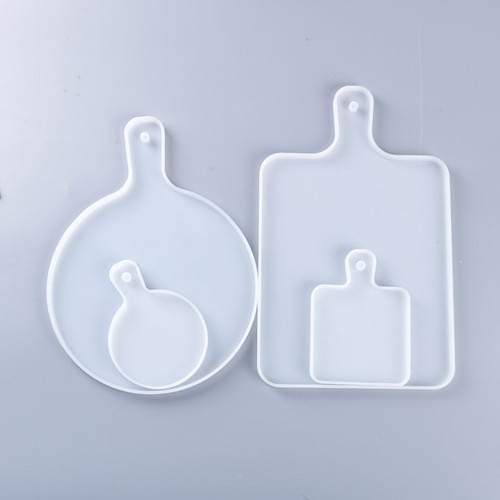 Round Square silicone mold