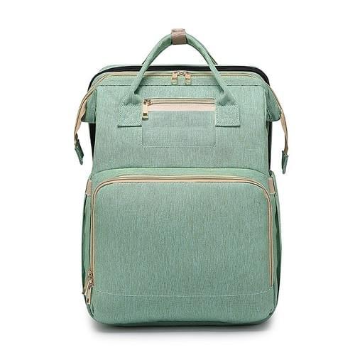Diaper Backpack Bag,  Travel Foldable bed