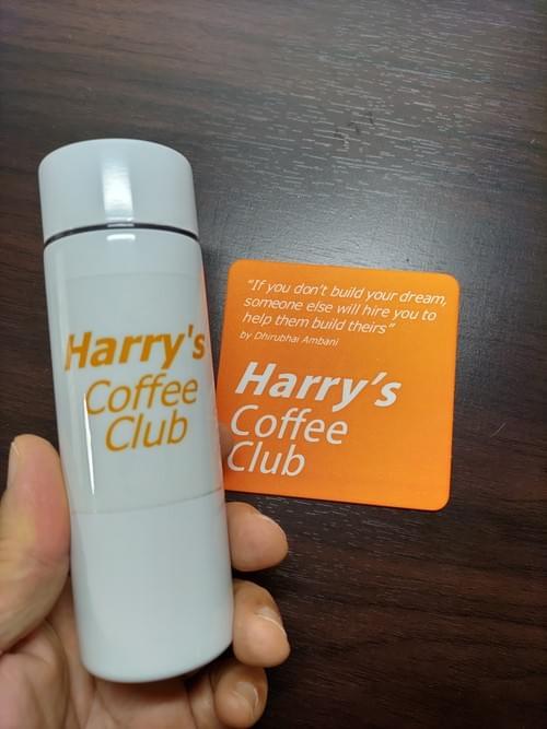 【ミニボトル】お気に入りの珈琲1杯分を入れて。Harry's Happy Bottle (140ml、送料無料)