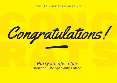 卒業おめでとうパック、hcc特製マグカップが無料で付いてきます(300g、送料無料)
