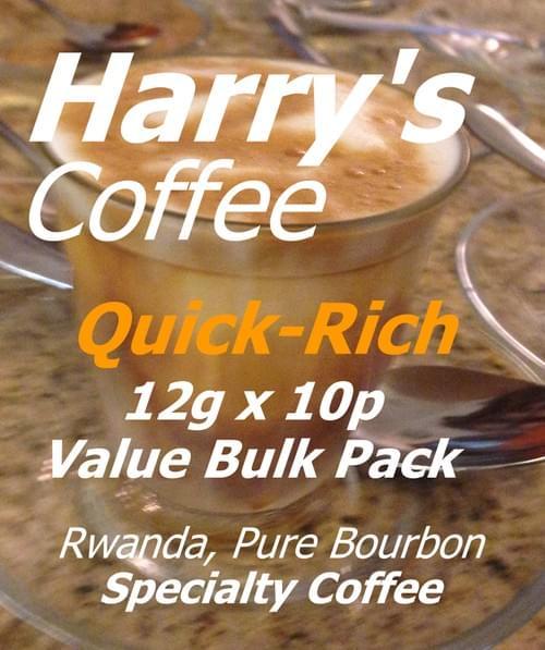 お得なドリップパックセット、旅先でお湯だけで飲めます。 Quick-Rich Value Bulk Pack (12g x 10pcs, 送料無料)