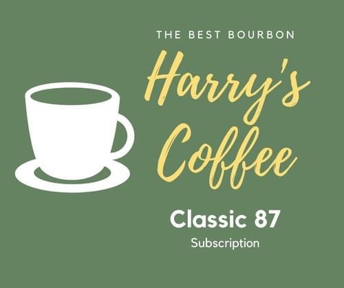【定期購入】(月次)Classic 87、最高級の珈琲が25%以上もお得です(240g、送料無料)