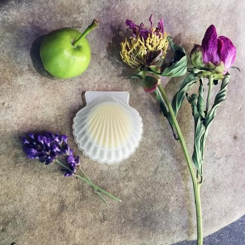 SOLID Natural Perfume Shell Compact, Tonka Bean Solid Fragrance
