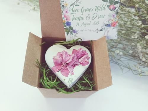 200 Rustic Wildflower Seed Bomb Wedding Favors for Guests Personalized Cards USA