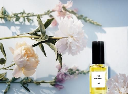 Natural Perfume 5 ml For Genoveva, Orange Blossom, Soft Wood, Vanilla, Orange