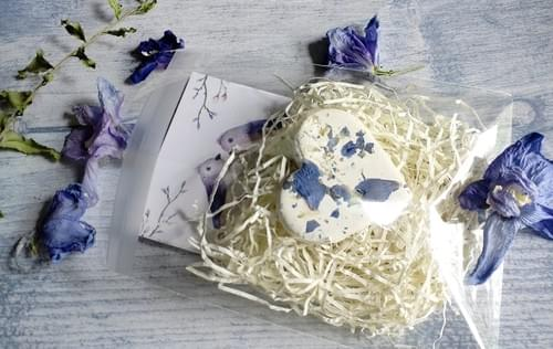 50 Botanical Seed Bomb Hearts with Personalized Cards, wedding Favors, Shower
