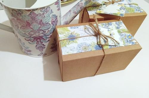 Seed Bomb Gift, Friend Gift, Handmade Personalized Box Wildflower Gardening Gift Under 30