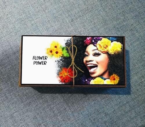 FLower Power Gift Box of Seed Bombs Pretty Gardening Wildflowers BFF Gift