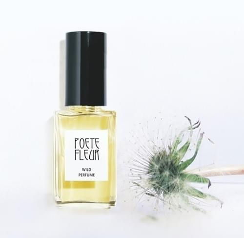 "Natural Perfume  ""Poetes Fleur"" Soil, Green, Jasmine, Daffodil, Jonquil  3 ml Glass Bottle SPECIAL"