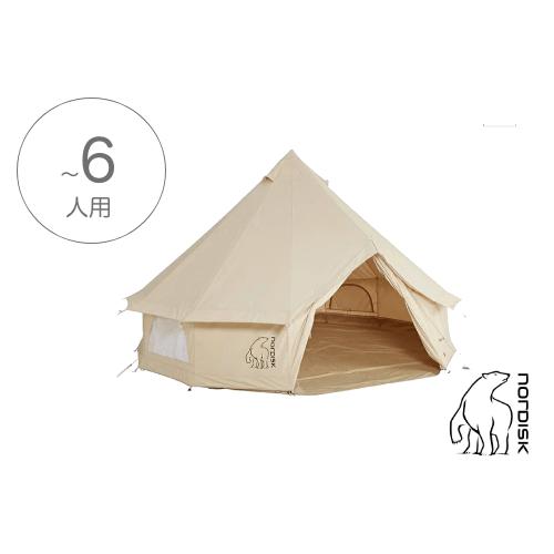 北欧製グランピングテント(8人用)アスガルド19.6