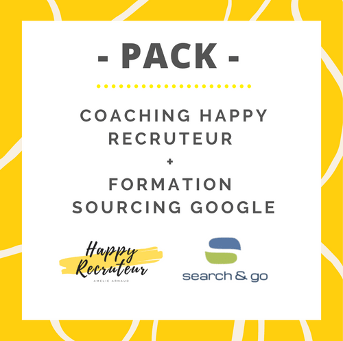 PACK Formation Happy Recruteur + Formation sourcing Google Search