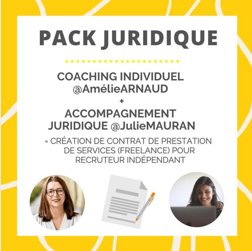 PACK JURIDIQUE (Coaching Happy Recruteur + Accompagnement juridique)