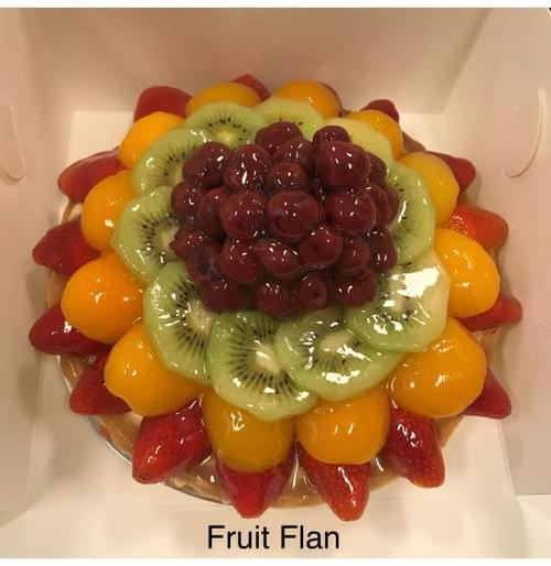 Mother's Day Fruit Flan