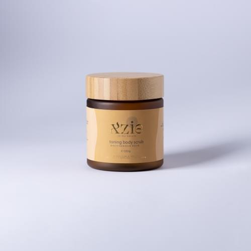 Xzie Toning Body Scrub - Birch/Benzoin Resin