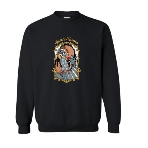 """""""Gruss vom Krampus"""" Crewneck Sweatshirt"""