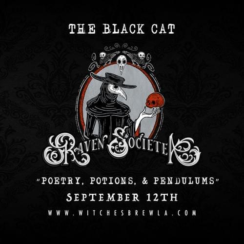 The Raven Societea - The Black Cat (Presale)