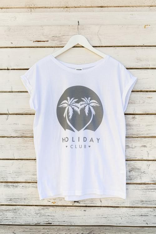 Extended Shoulder Shirt HOLIDAY CLUB