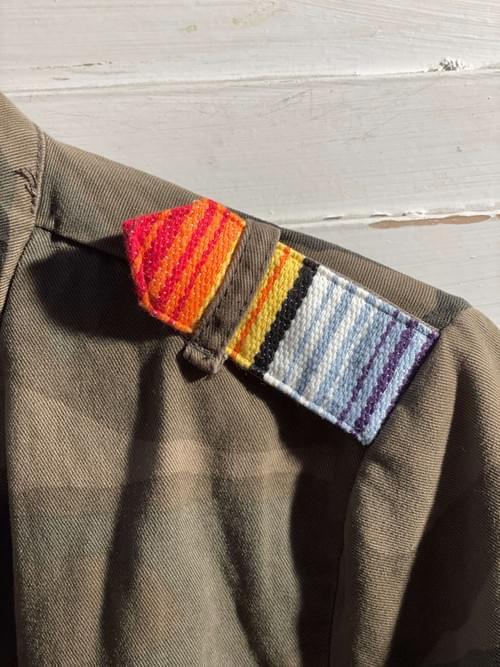 Army Jacke Rainbow