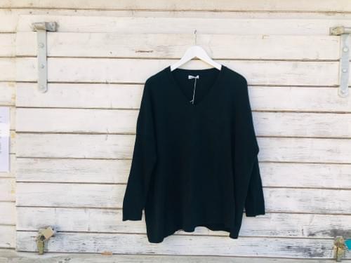 V-Neck Pullover Cashmere Blend