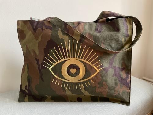 Camouflage Bag Golden Eye