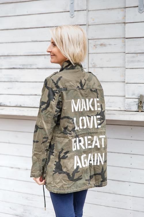 "Jacke ""MAKE LOVE GREAT AGAIN"""