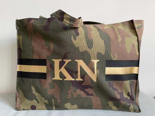 Camouflage Bag Golden Eye