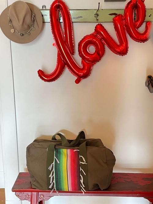 Rainbow Travel Bag Viva Mexico