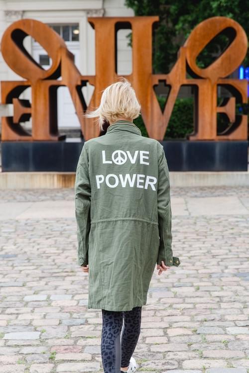 """Jacke """"LOVE POWER"""""""