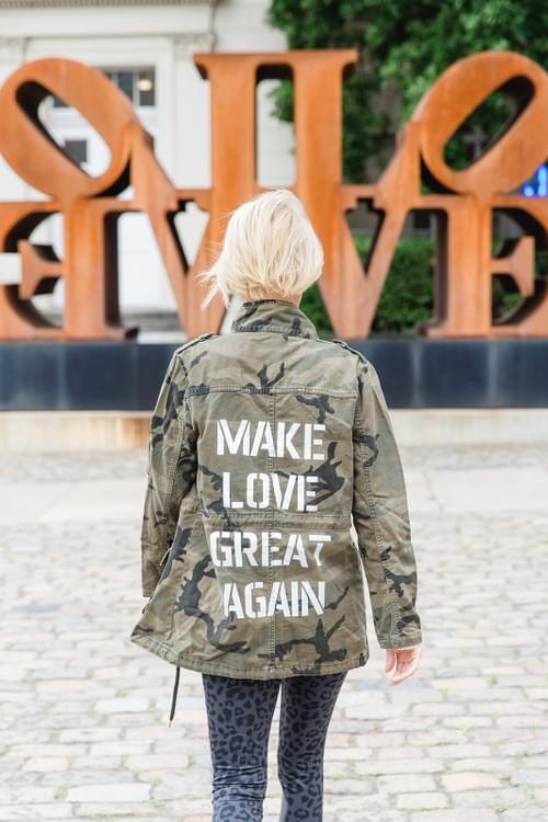 """Jacke """"MAKE LOVE GREAT AGAIN"""""""