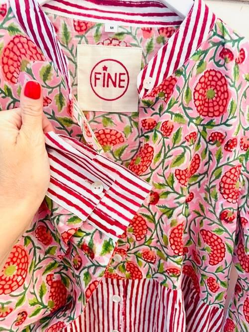 Mix&Match Dress Red Flowers