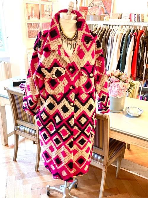 Fancy Coat - pink