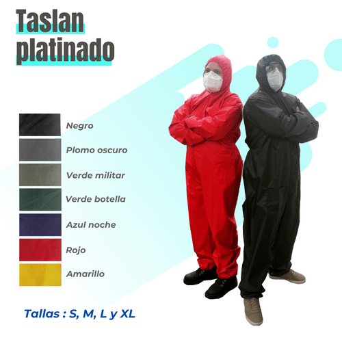 Mameluco Taslan platinado Impermeable