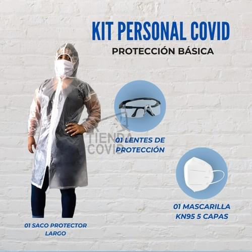 KIT PERSONAL COVID - BÁSICO