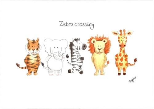 Zebra Crossing - print