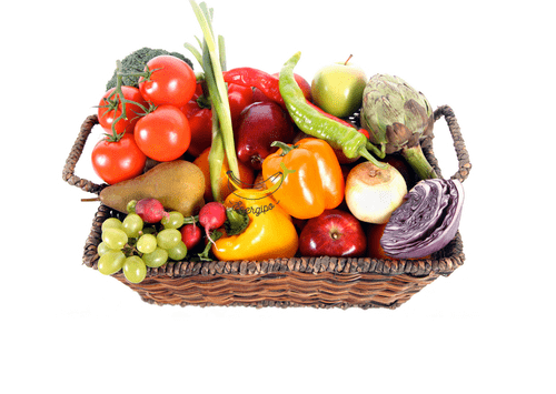 Mélange de légumes et de fruits 4 à 5kg