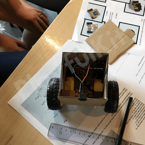 Robot Car DIY Eveil Kit