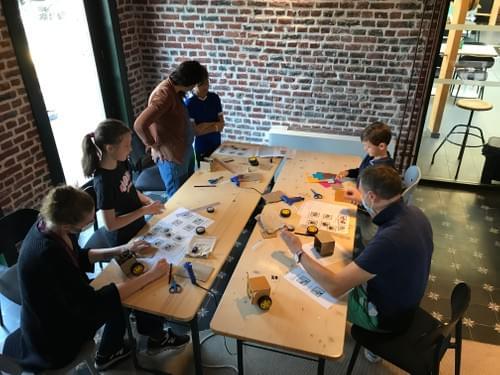 Atelier robotique du 25 septembre 2021 - 14h30/16h00