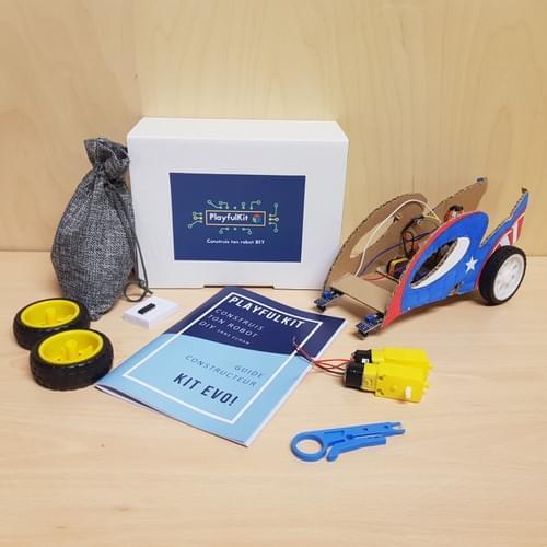 Evo! Robot Car DIY Evolutif  + Livret