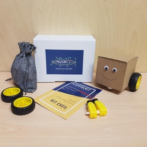 Robot Car DIY Kit Eveil + Livret