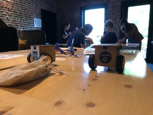 Atelier robotique du 26 septembre 2021 - 10h/11h30