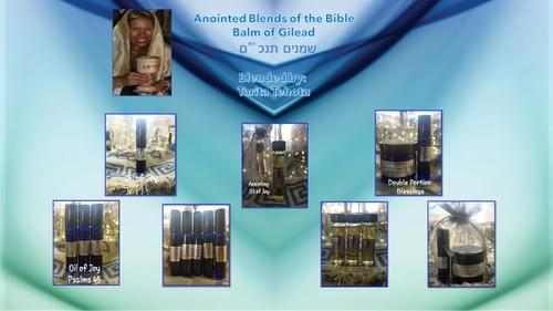 Oils of the Tanakh (Bible)